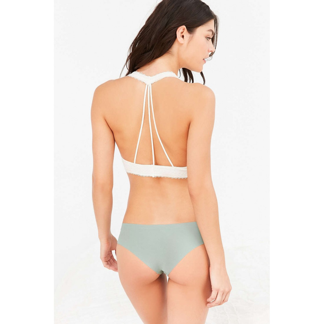 0fe1455f76 Out From Under Strappy Back Halter Bra UO36837490 IVORY