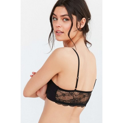 Out From Under Kia Fusion Lace Bra UO37741113 BLACK