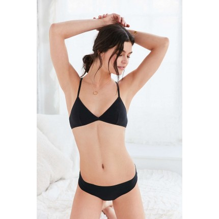 Out From Under Crossback Triangle Bra UO38236691 BLACK