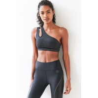 Without Walls Reflective One Shoulder Sports Bra