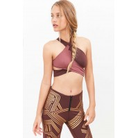 Without Walls Deco Wrap Sports Bra