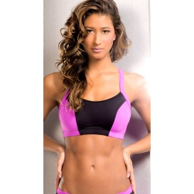 BodyZone Apparel Neon Racerback Sports Bra