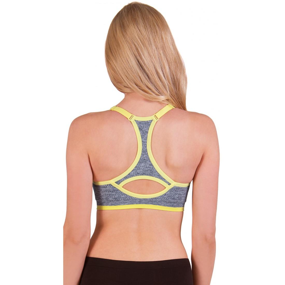 Scoop Back Sports Bra Breeze Clothing