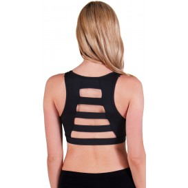 Flex Wide Ladder Back Microfiber Sports Bra