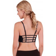 Flex Caged Back Sports Bra