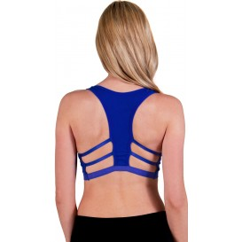 Flex Caged T-Back Sports Bra