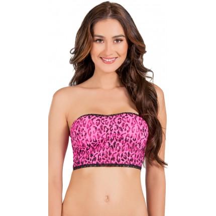 Rene Rofe Pink Panther Bandeau Bra YRR-B23301-7201PP