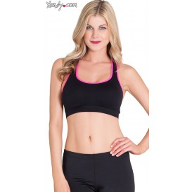 Rene Rofe Black Playtime Sports Bra