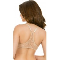 Yandy Rene Rofe Back Up Nude Racerback Bra