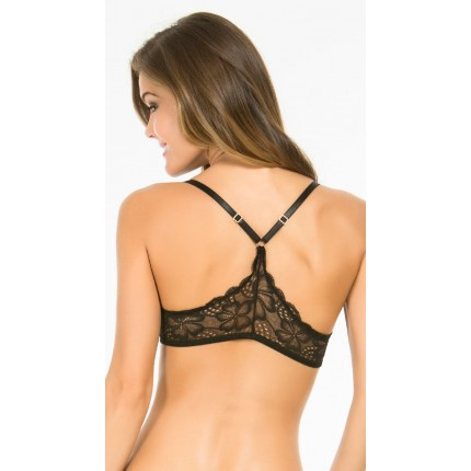 Yandy Rene Rofe Ready Or Not Black Lace Bra YYB-YCB55452-BLK