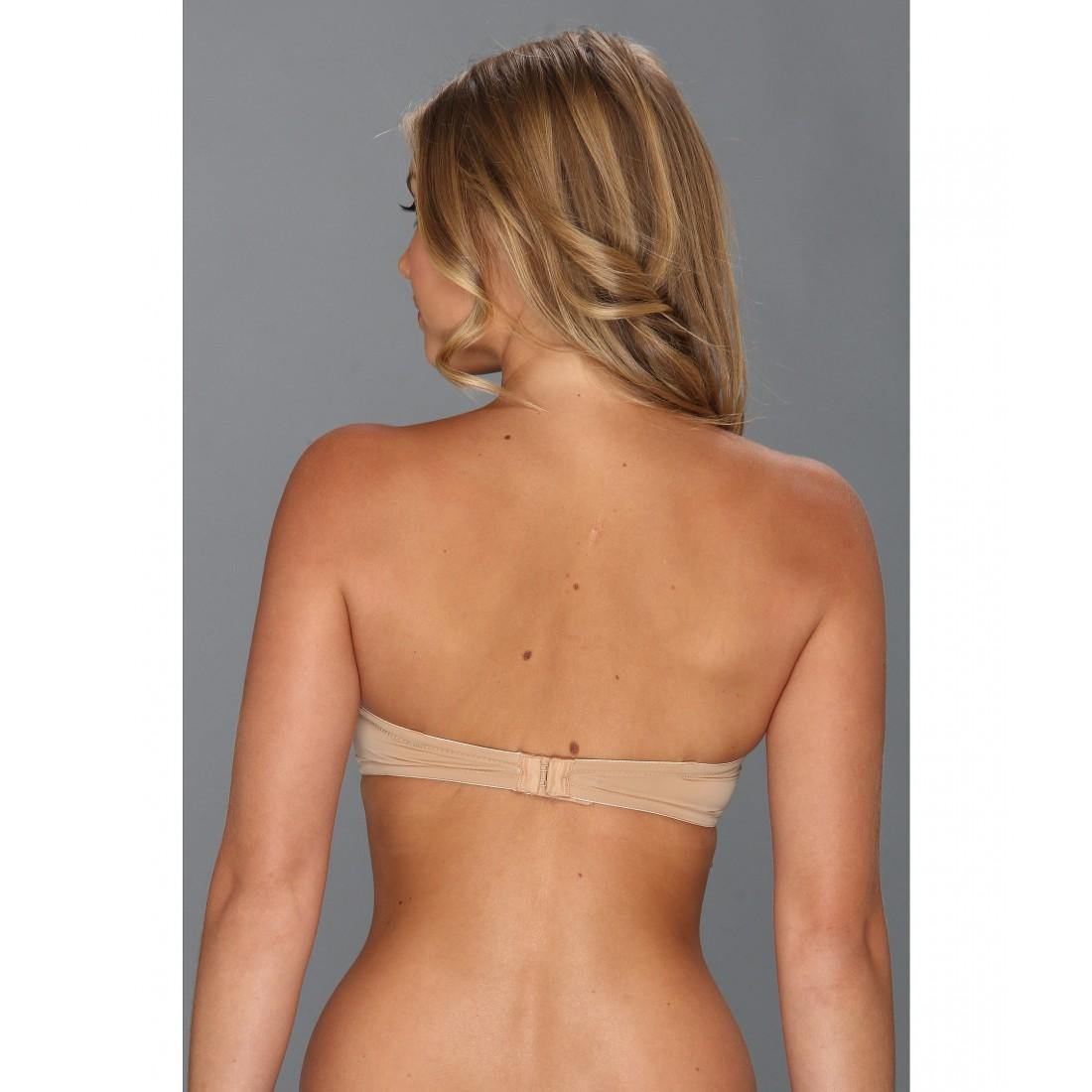 81acb98650 Calvin Klein Underwear Naked Glamour Strapless Push-Up Bra F3493 ZPSKU  7952857 Buff