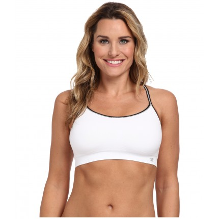 Champion Champion Criss Cross Cami Sports Bra ZPSKU 8497468 White/Black