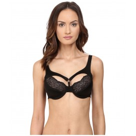 ELSE Signature Silk & Lace Harness Bra