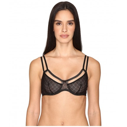 ELSE Hidden Layer Underwire Full Cup Bra ZPSKU 8807446 Black