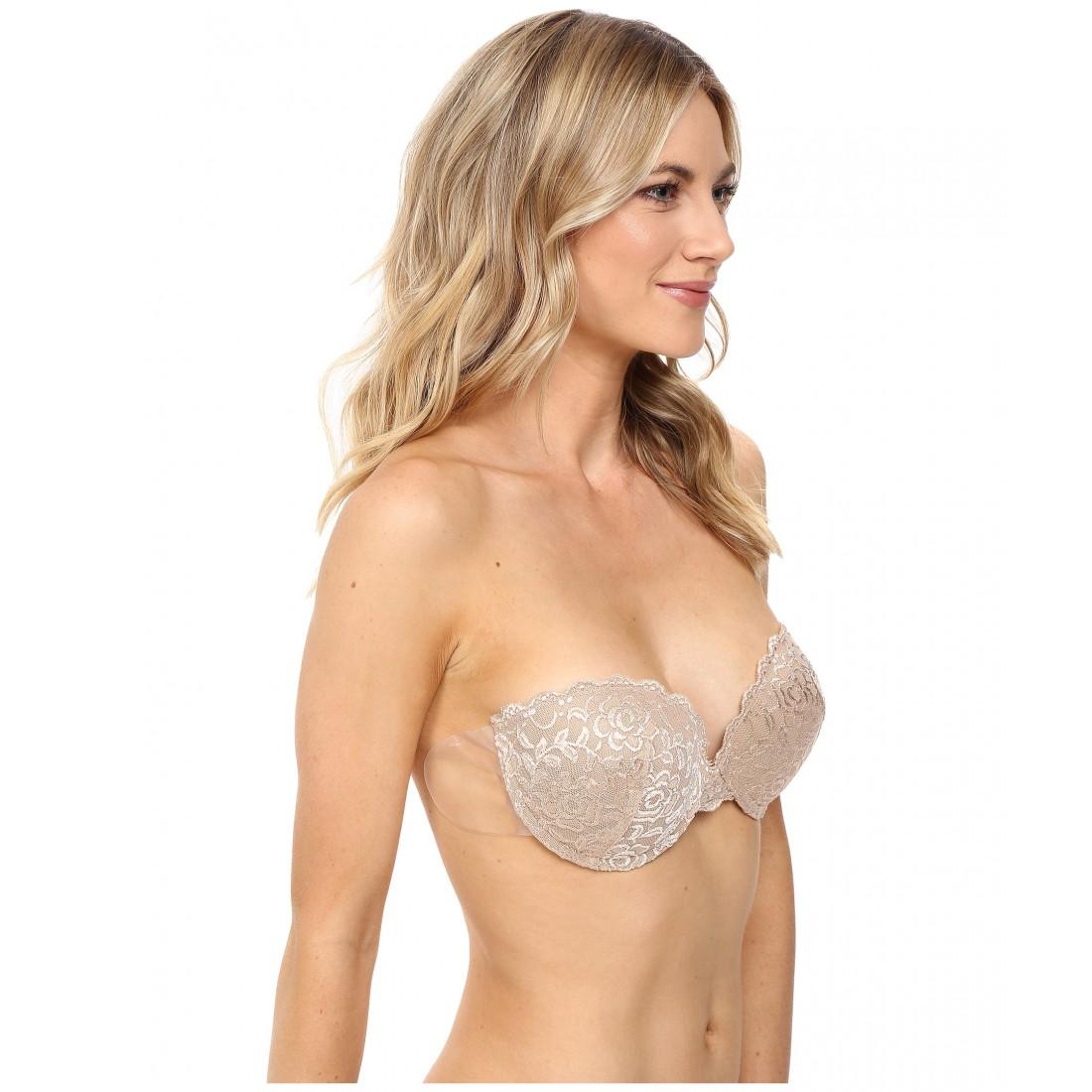 68d6ea327d1a2 Fashion Forms Lace Ultimate Boost Stick On Backless Strapless Bra ZPSKU  8839109 Blush