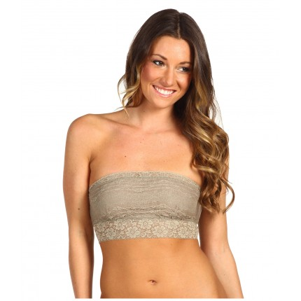 Free People Scalloped Lace Bandeau ZPSKU 7583736 Taupe