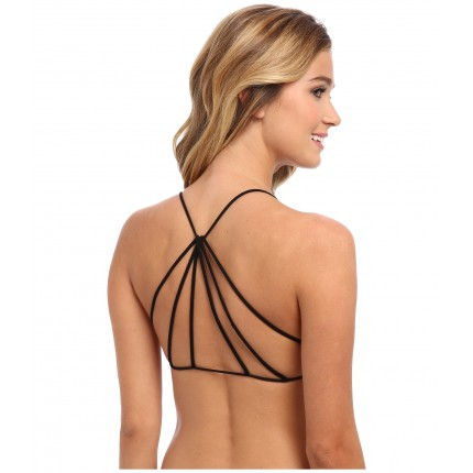 Free People Strappy Back Bra ZPSKU 8495209 Black