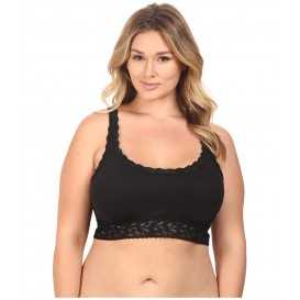 Hanky Panky Plus Size Cotton with a Conscience Crop Top