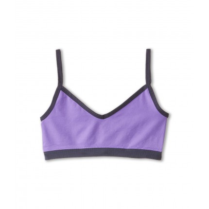 Jockey Kids Performance Two-Way Seamless Active Crop Top (Big Kids) ZPSKU 8573887 Purple 1
