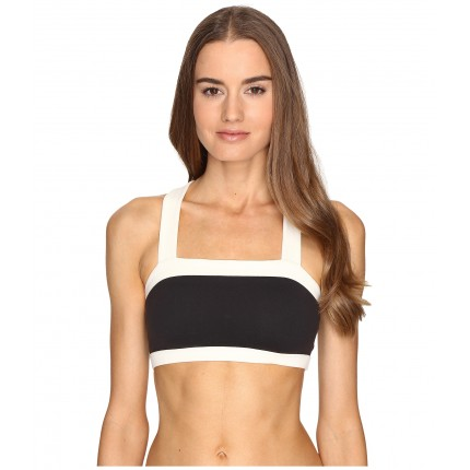 Kate Spade New York x Beyond Yoga Blocked Frame Bra ZPSKU 8796528 Black/Cream