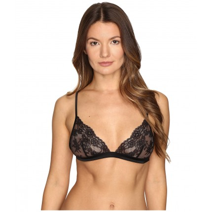 La Perla Airy Blooms Triangle Bra ZPSKU 8812885 Black