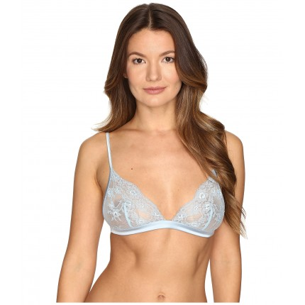 La Perla Airy Blooms Triangle Bra ZPSKU 8812885 Light Blue