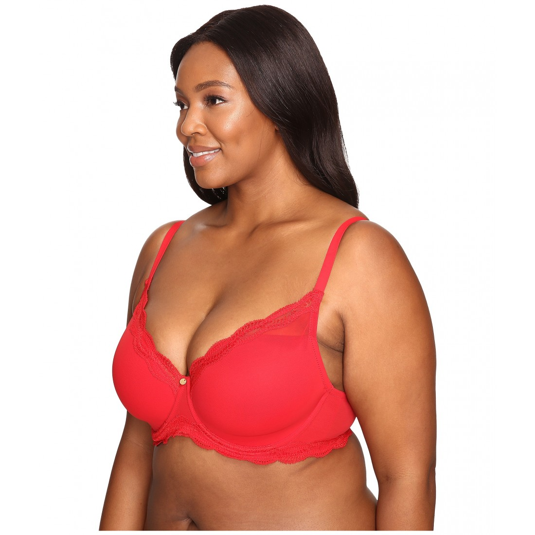 eab98ac3b Natori Pure Allure Full Figure Contour Underwire Bra 736099 ZPSKU 8535323  Real Red
