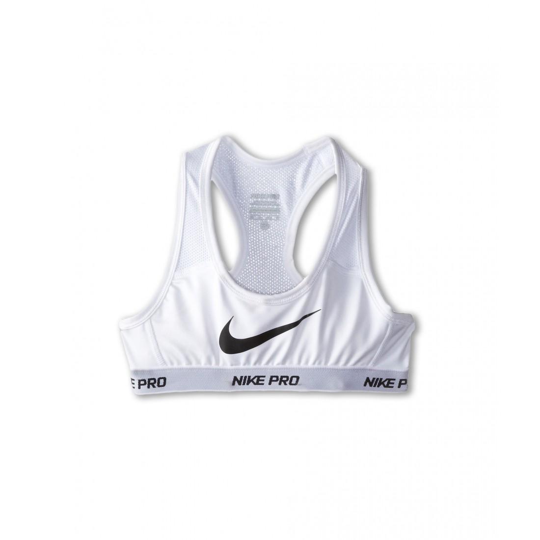 pretty nice 124f4 305e6 Nike Kids Pro Hypercool Sports Bra (Little Kids Big Kids) ZPSKU 8466204  White