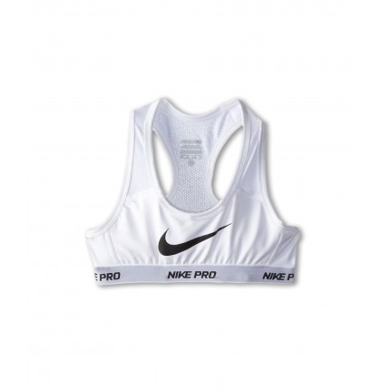 Nike Kids Pro Hypercool Sports Bra (Little Kids/Big Kids) ZPSKU 8466204 White/White/White/Black
