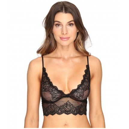 Only Hearts So Fine Lace Long Line Bralette ZPSKU 8857152 Black