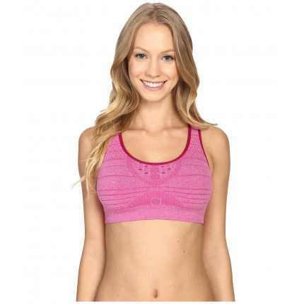 Smartwool PhD Seamless Racerback Elite Fit Bra ZPSKU 8462284 Berry Heather