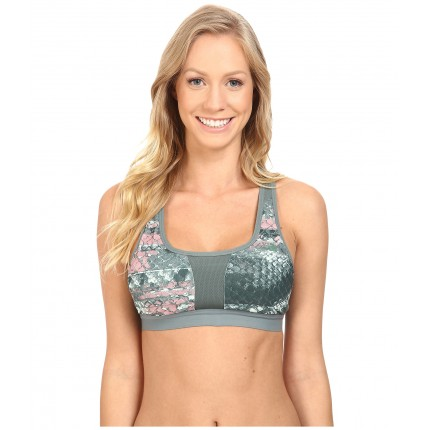 The North Face Stow-N-Go IV Bra ZPSKU 8700207 Balsam Green Reptile Print