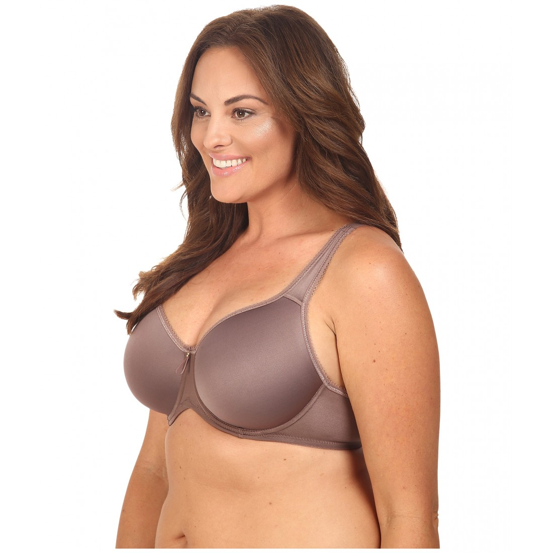 cebed126d6 Wacoal Basic Beauty Spacer Underwire T-Shirt Bra 853192 ZPSKU 8418603 Deep  Taupe