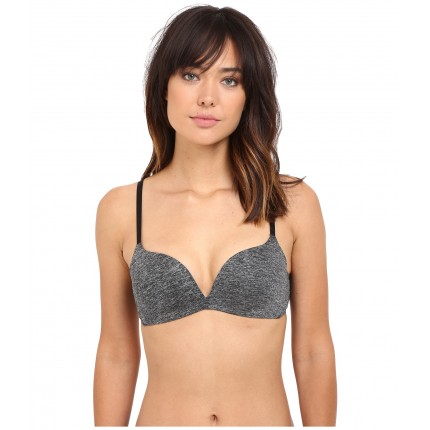 b.tempt'd b.splendid Wire Free Push-Up Bra 952255 ZPSKU 8799162 Dark Grey Heather