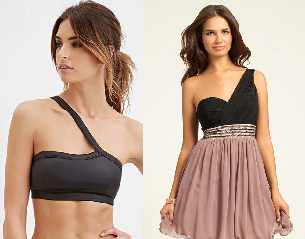 Bra for Dress With One Shoulder