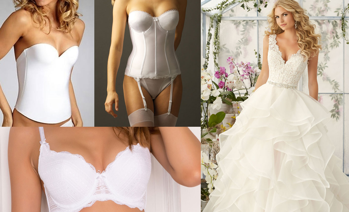 Bras for wedding dresses bridesmaid dresses for What undergarments for wedding dress shopping