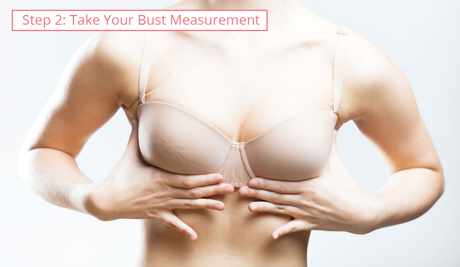 Bra size chart: bust measurement