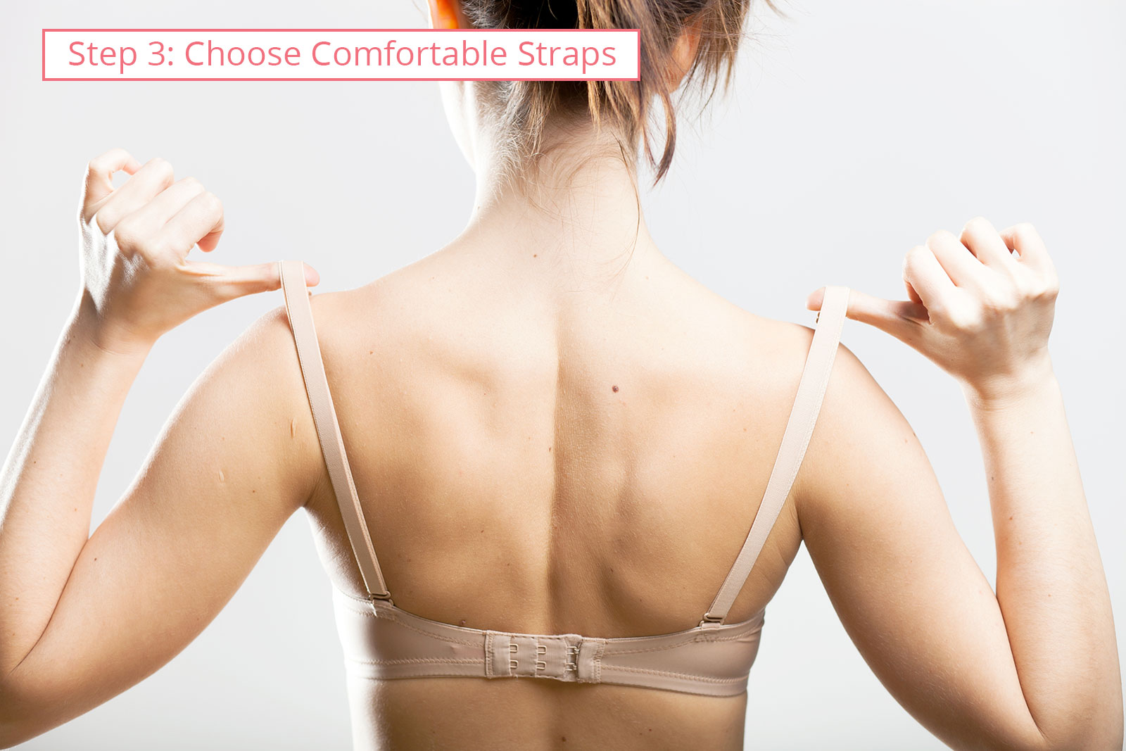 Bra size chart: choose comfortable straps